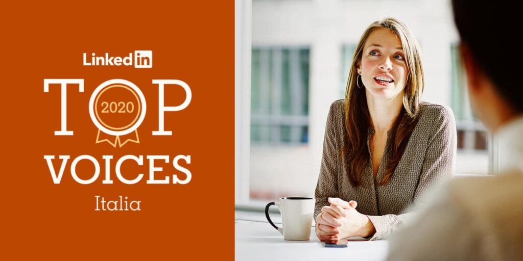LinkedIn Top Voice 2020